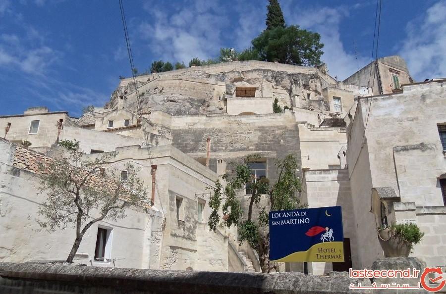 هتل لوکاندا دیسان مارتینو (Locanda di San Martino)، شهر ماترا، کشور ایتالیا