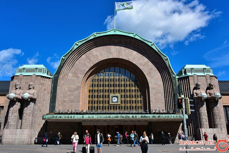 ایستگاه مرکزی هلسینکی - فنلاند