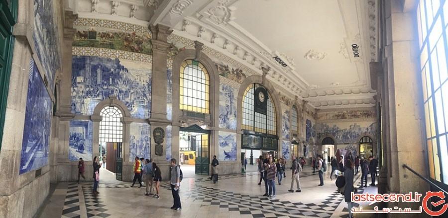 ایستگاه سائو بِنتو (Estacao de Sao Bento) - پرتغال