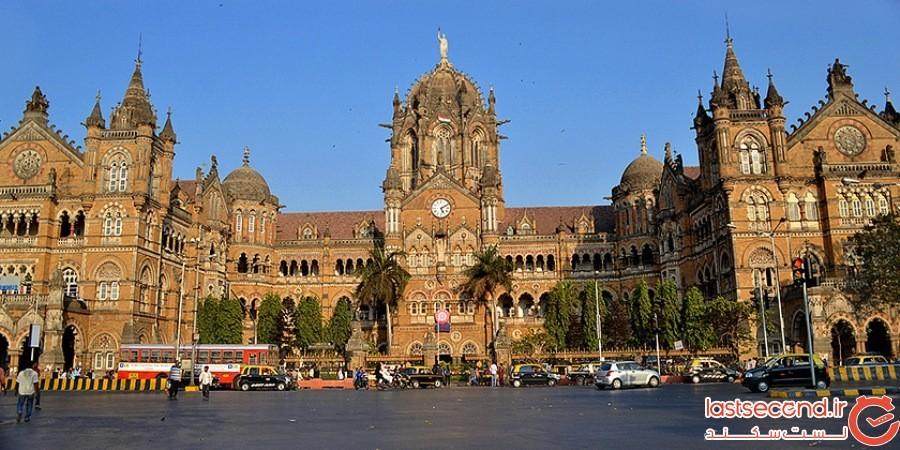 پایانه چاهاتراپاتی شیواجی (Chhatrapati Shivaji) - بمبئی
