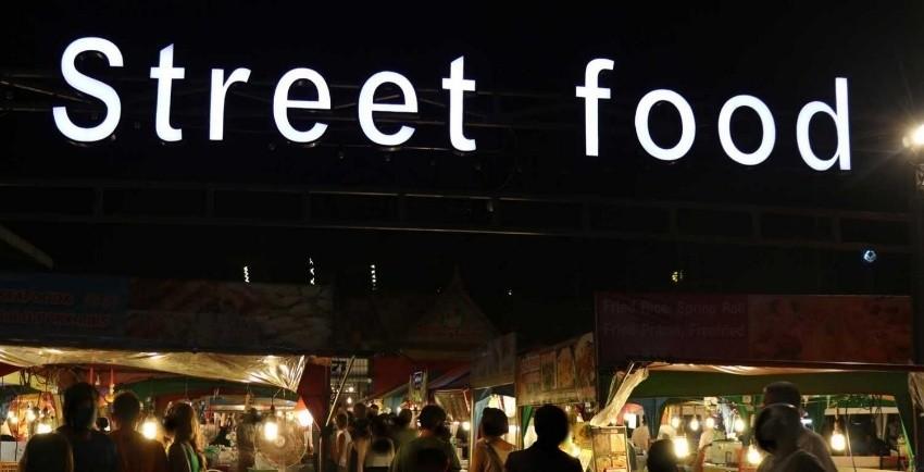 غذای خیابانی خیابان بانگلا