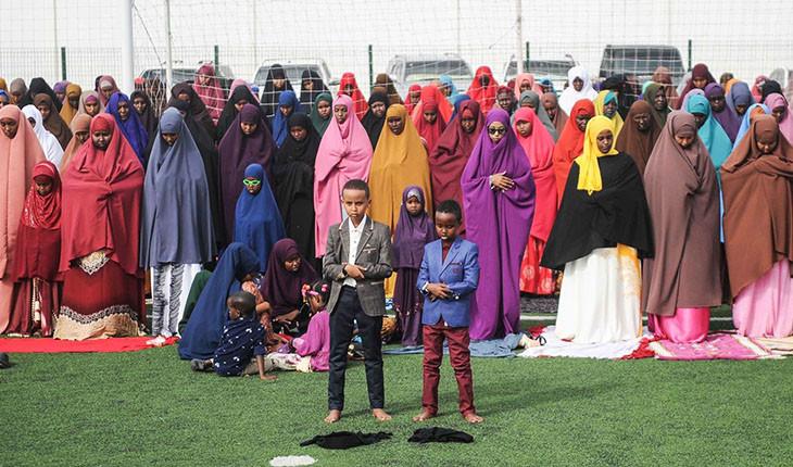 برگزاری مراسم دیدنی عید فطر در نقاط مختلف دنیا