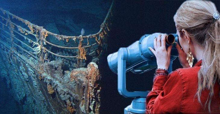 تماشای لاشهی کشتی تایتانیک، نوع جدیدی از گردشگری را رقم زد