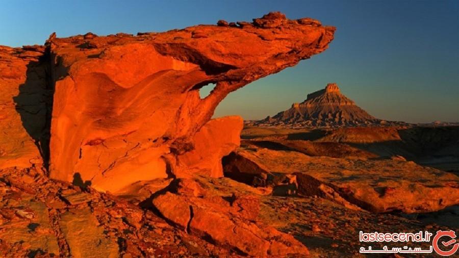 مکانهایی که در آنها میتوانید مریخ را روی زمین تجربه کنید