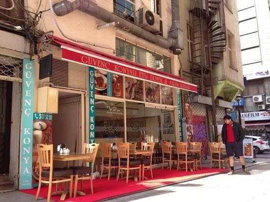 رستوران گوونچ کونیالی