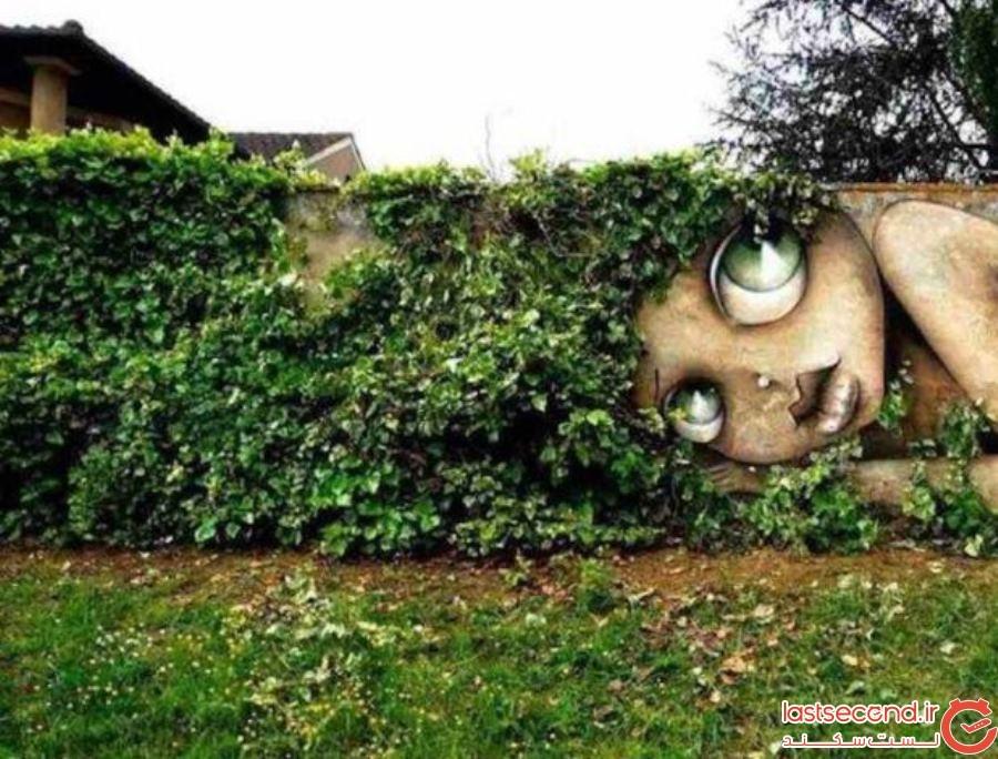 7  نقاشی دیواری به سبک هنر خیابانی، در جاهای مختلف دنیا