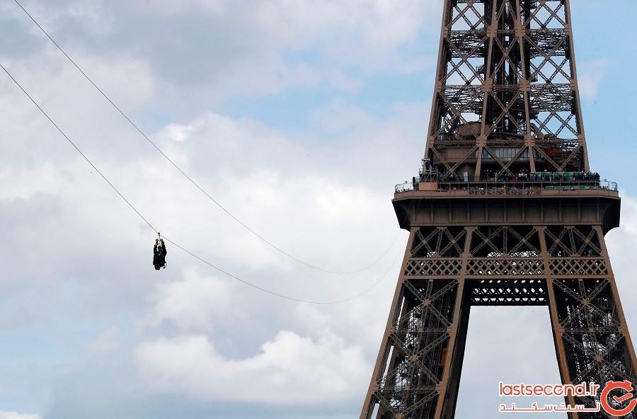 جدیدترین جاذبه گردشگری که به برج ایفل اضافه شده است