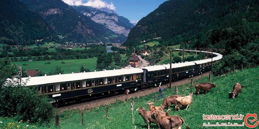 15 نمونه از خوشمنظرهترین سفرهای قطاری در جهان