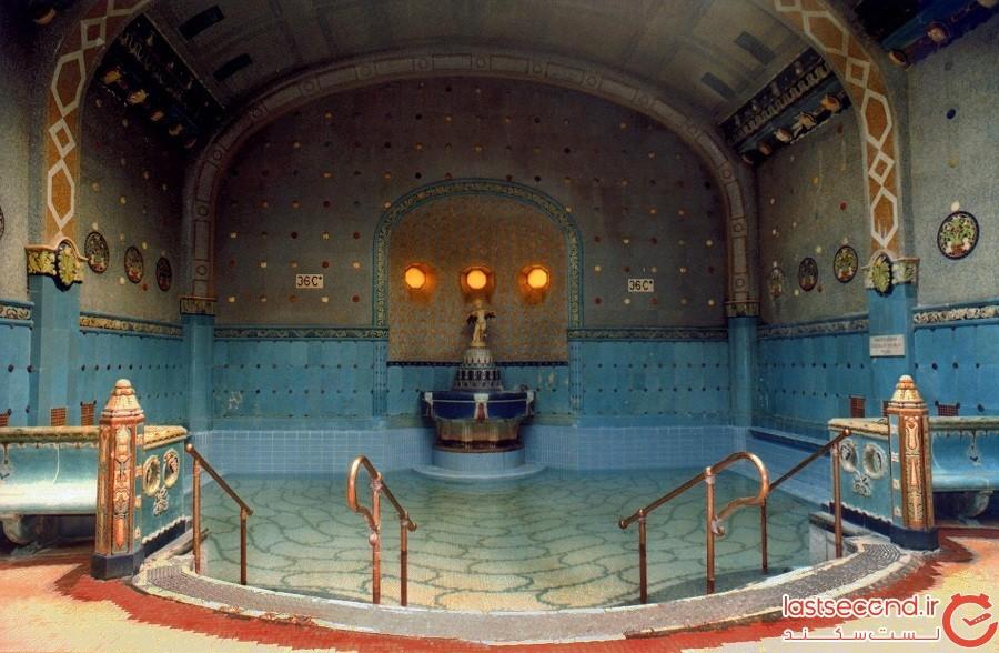 حمام حرارتی سچنی Szechenyi، شهر بوداپست، مجارستان