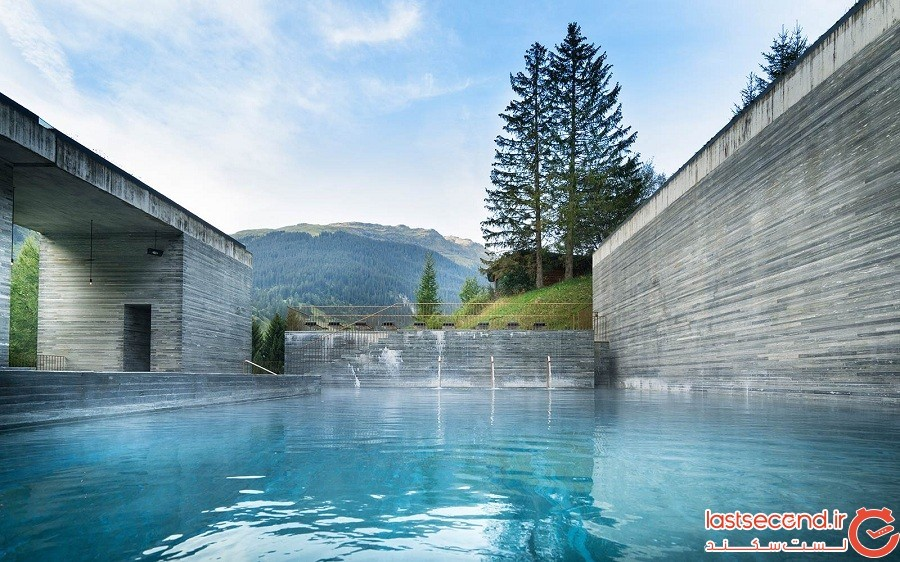 Therme Vals، سوئیس