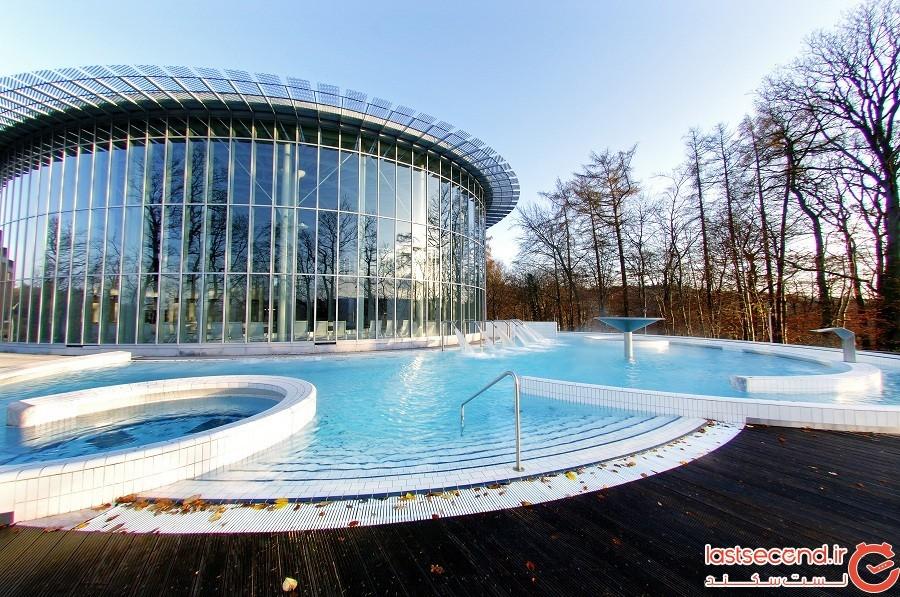 1-حمام حرارتی شهر اسپا Les Thermes de Spa ، کشور بلژیک