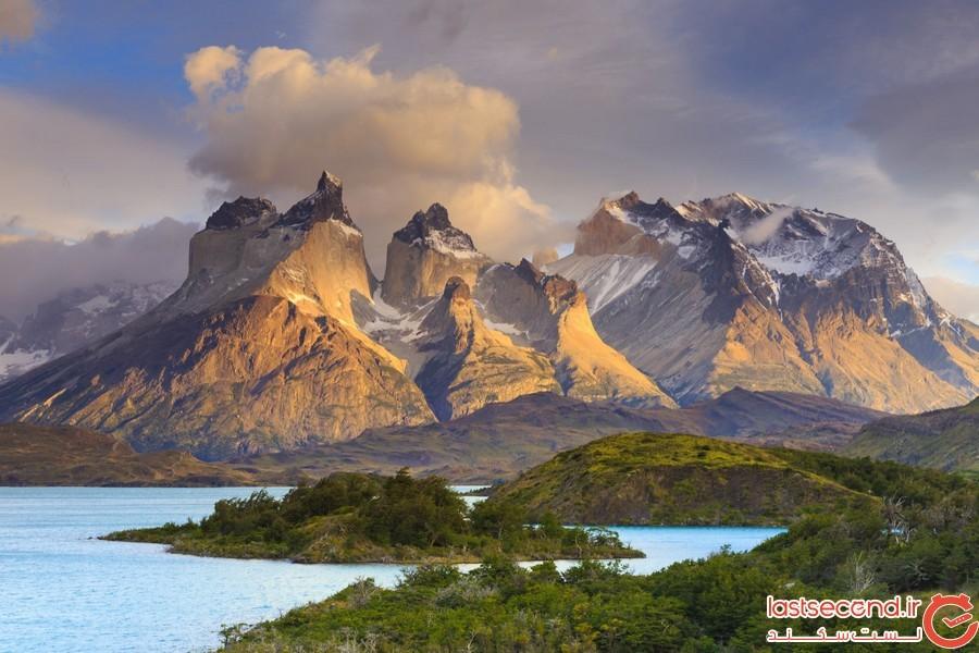 پارک ملی تورز دل پینه در شیلی