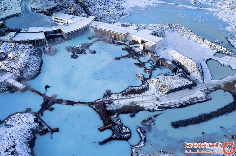 چشمه آبی Blue Lagoon، ایسلند