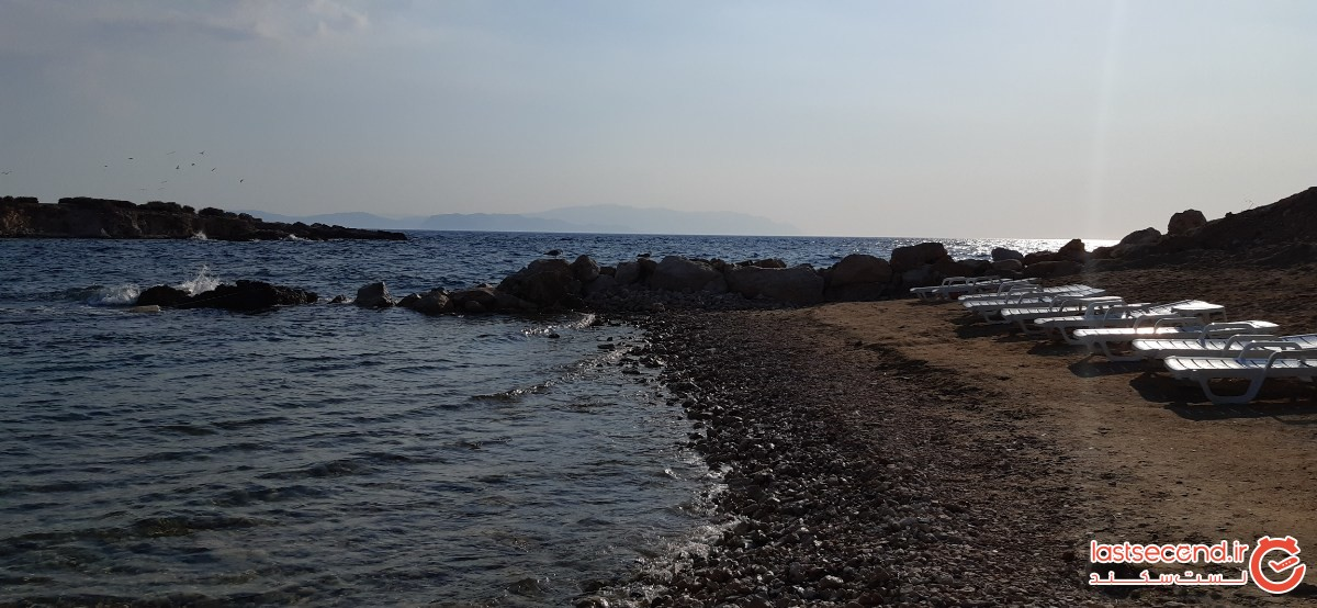 فضای استخر و ساحل