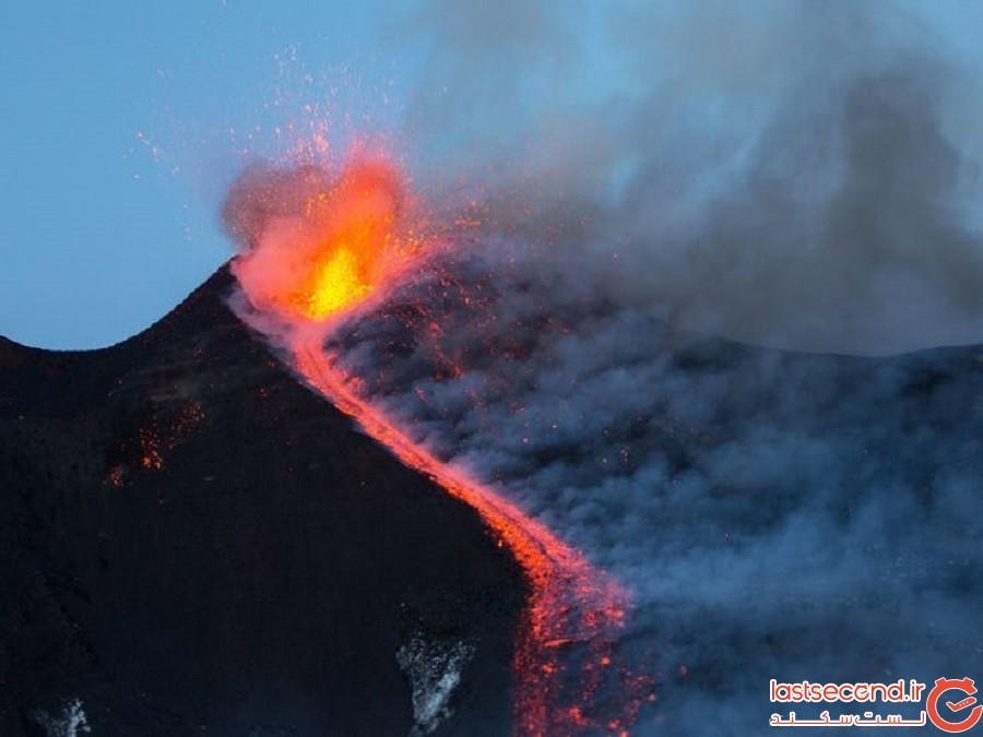 کوه اتنا (سیسیل، ایتالیا)