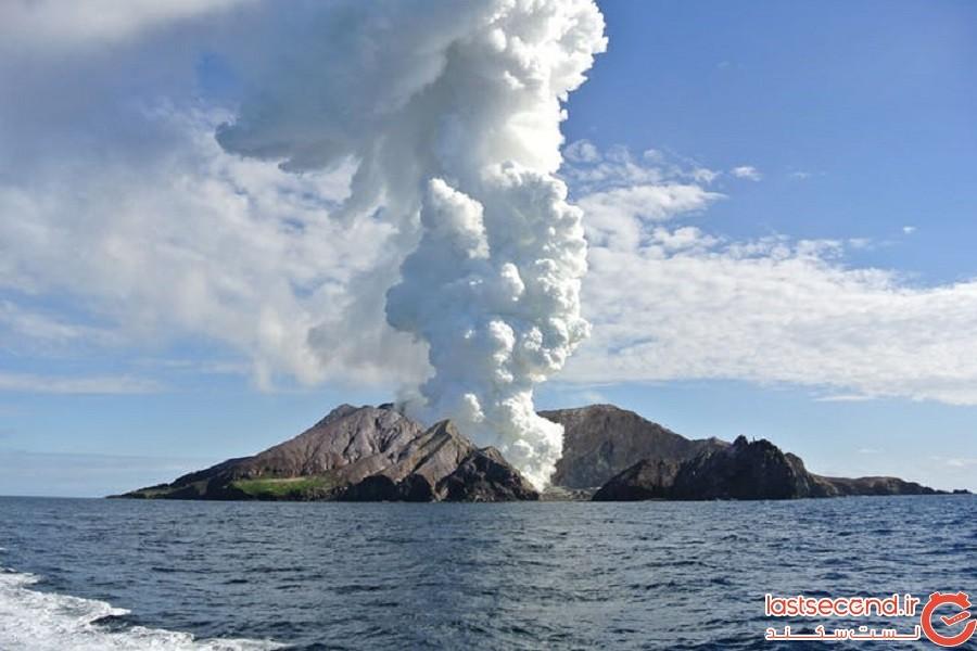 جزیره سفید یا وایت آیلند (نیوزیلند)