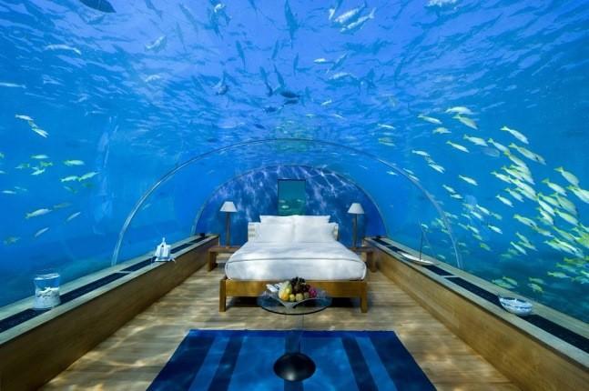 اقامتگاه های زیردریایی بی نظیری که می توان در آن ها نفس تازه کرد