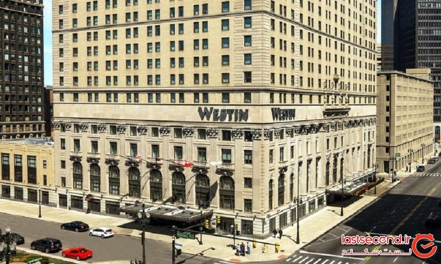 هتل THE WESTIN BOOK CADILLAC - دیترویت - ایالت میشیگان