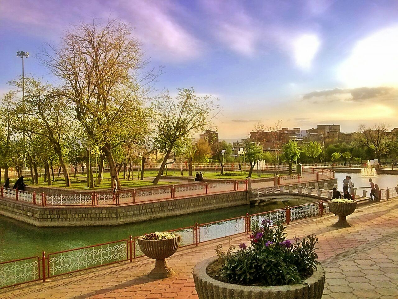 پارک سیفیه ملایر، ایتالیایی کوچک در غرب ایران