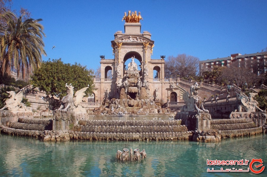 Cascada Fountain at Parc de la Ciutadella