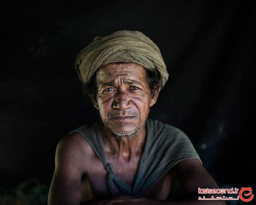عکاسی از آخرین قبیله چادرنشین که در دامنههای هیمالیا زندگی میکنند
