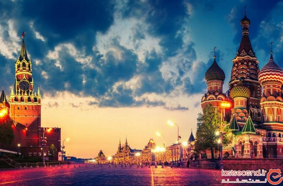 ماجرای شب های سفید در روسیه