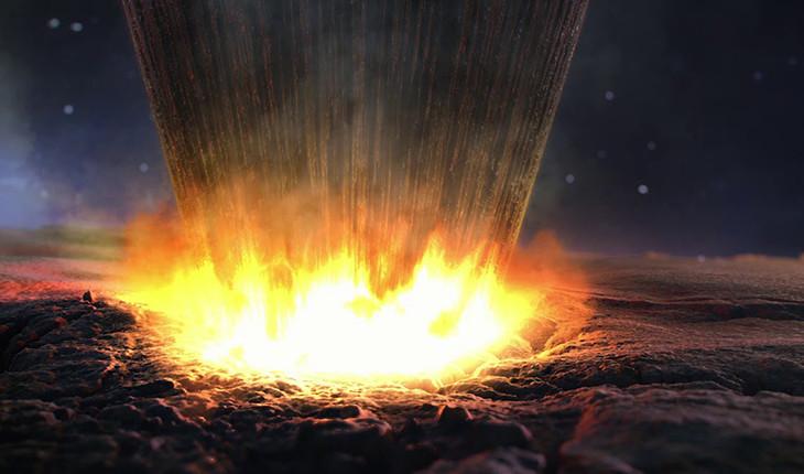 کشف نقاشی های 8000 ساله داخل دهانه 2 میلیارد ساله شهاب سنگ