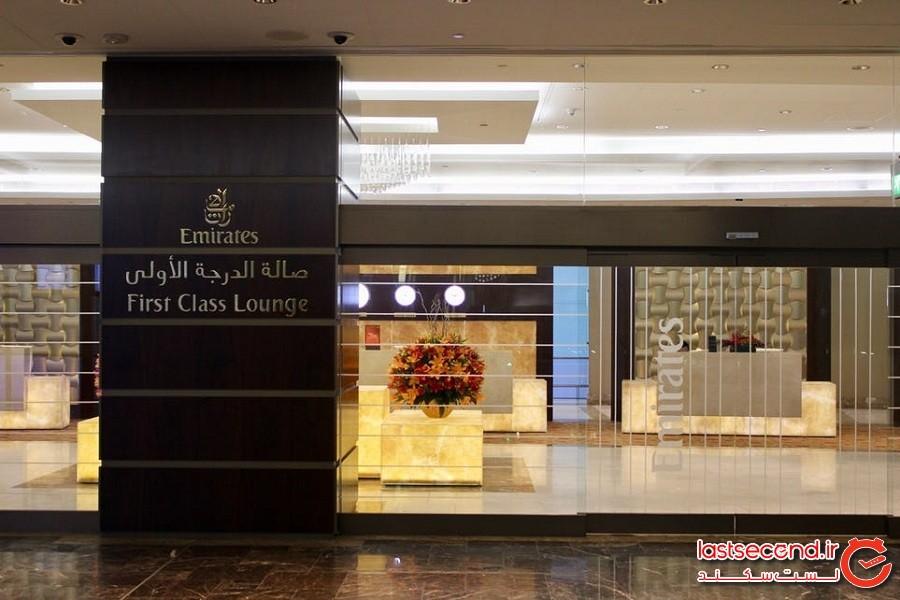 ترمینال هواپیمایی هواپیمای درجه یک A380 امارات، دبی