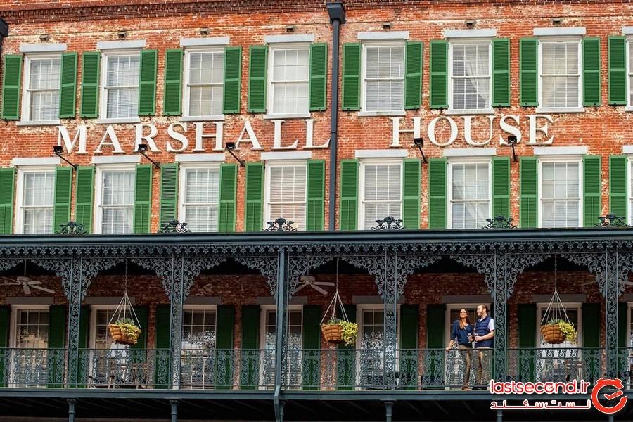 هتل مارشال هاوس – شهر ساوانا، ایالت جورجیا