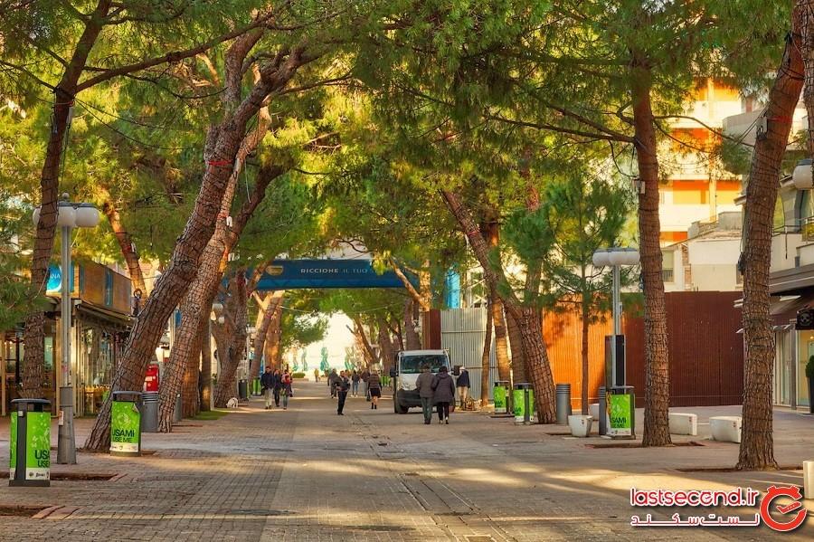 ویاله چکرینی – شهر ریچون کشور ایتالیا