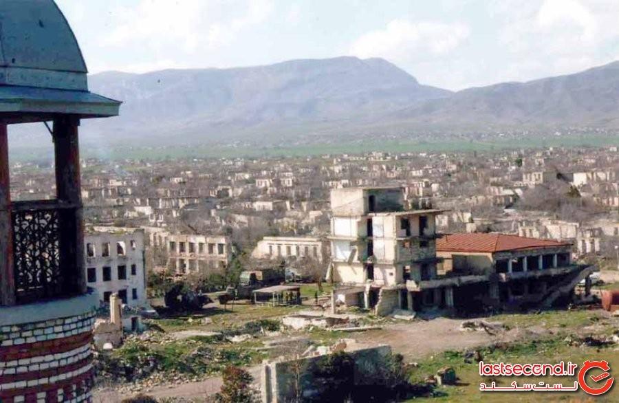 آغدامِ آذربایجان: شهر ارواحِ جنگ