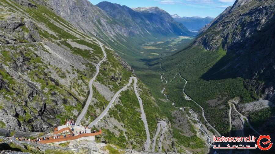 ترول استیگن (نردبان غول) - نروژ