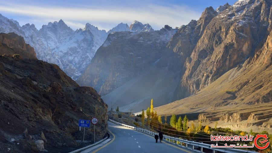 بزرگراه کاراکوران - پاکستان و چین