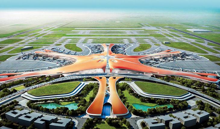 دومین فرودگاه بین المللی پکن کامل شد و بزودی بازگشایی می شود