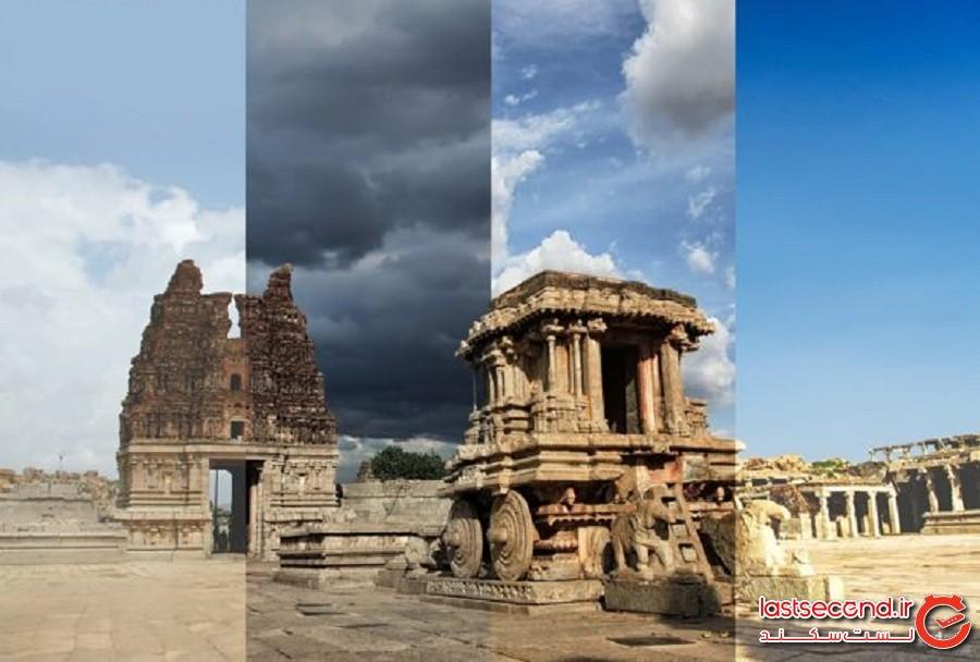 عکسهای چهارفصلهای که از 8 نقطه مختلف جهان گرفته شدهاند