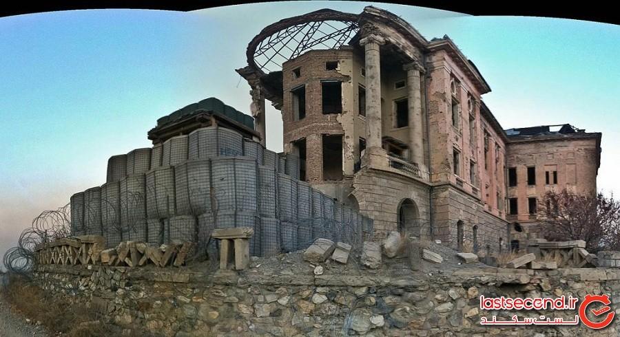 قلعه تاجبگ، خانه سابق خانواده سلطنتی افغان