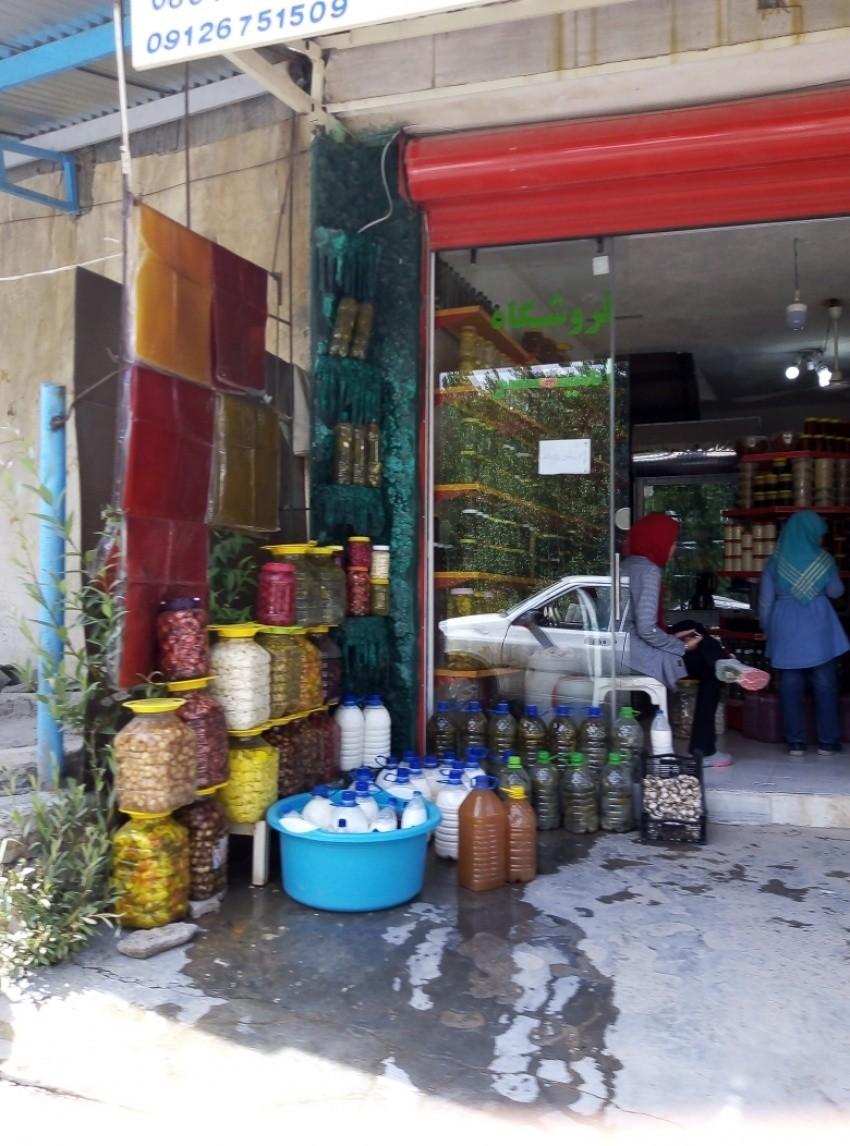 بازار روستای ونایی