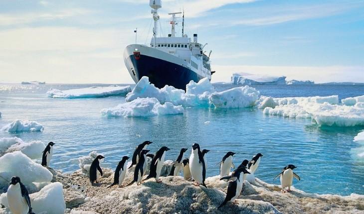 قطب جنوب، نقطهای از دنیا که بویی از مهمان نوازی نبرده است