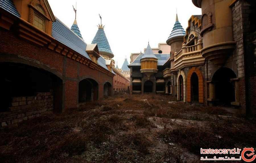 پارک تفریحی سرزمین عجایب، یک پارک نیمهکاره در چین
