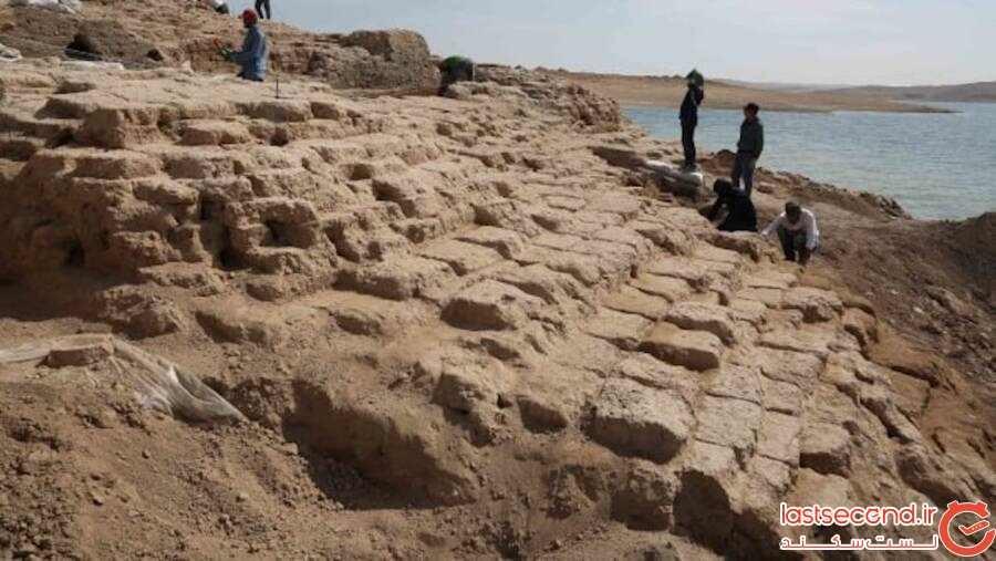 داستان کاخ 3،400 سالهای که بر اثر خشکسالی در عراق رونمایی شده است!