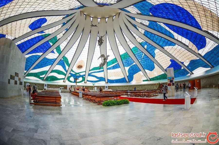 کلیسای جامع برازیلیا - شهر برازیلیا - برزیل