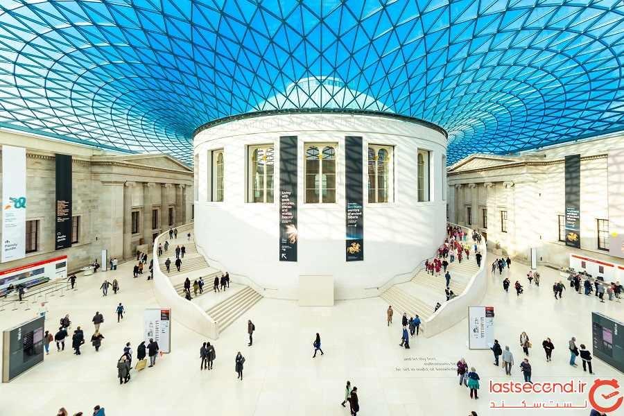 موزه بریتانیا - شهر لندن - انگلستان