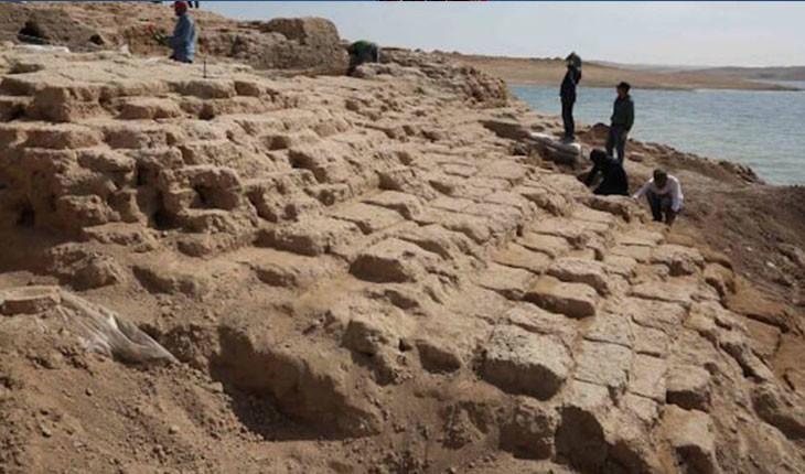 ماجرای عجیب کاخ 3400 سالهی عراقی، که بر اثر خشکسالی نمایان شد