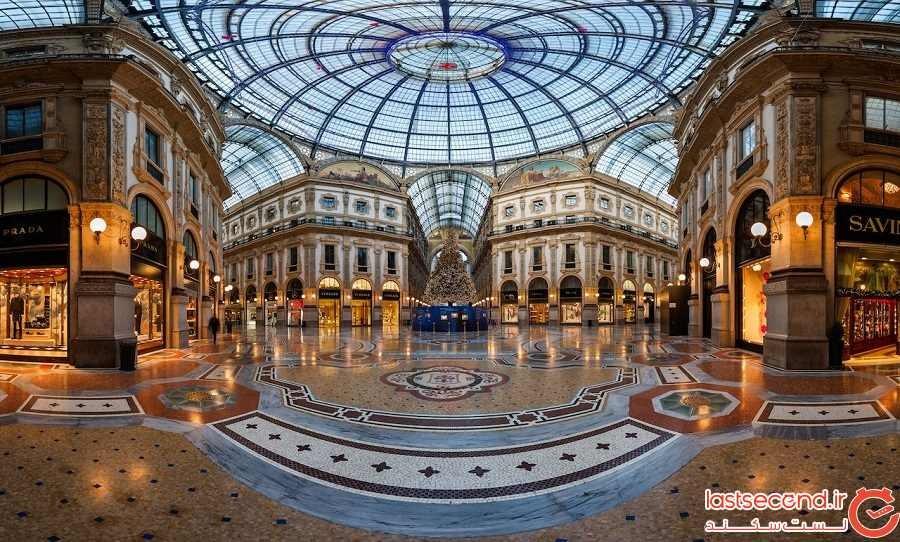 گالری ویتوریو امانوئل دوم - شهر میلان - ایتالیا