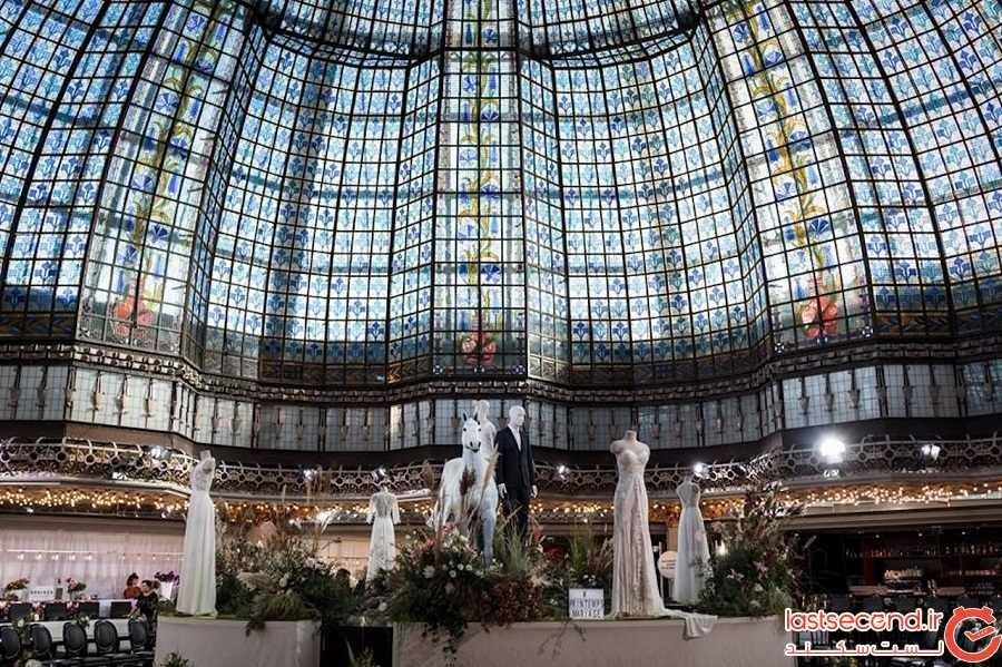 مرکز خرید پرینتمپس - شهر پاریس - فرانسه