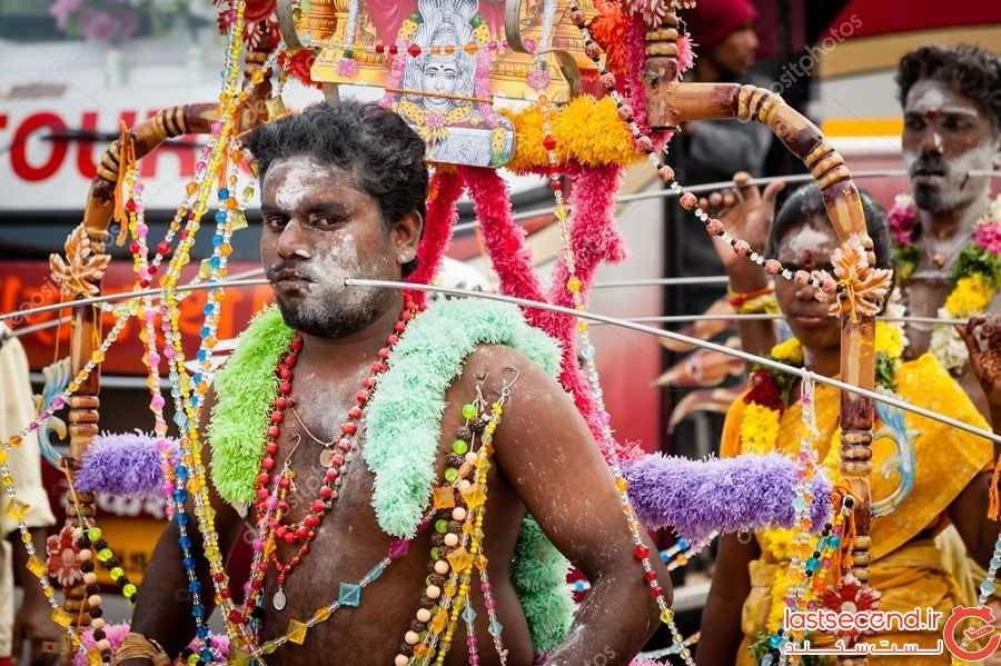 همه چیز در مورد تایپوسام، فستیوالی که در آن برای عبادت بدنشان را سوراخ میکنند!