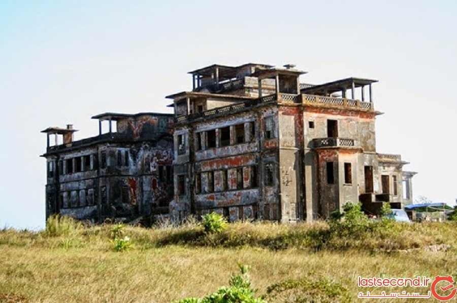 درباره هتل بوکور هیل استیشن (یک هتل متروکه استعماری در کامبوج)