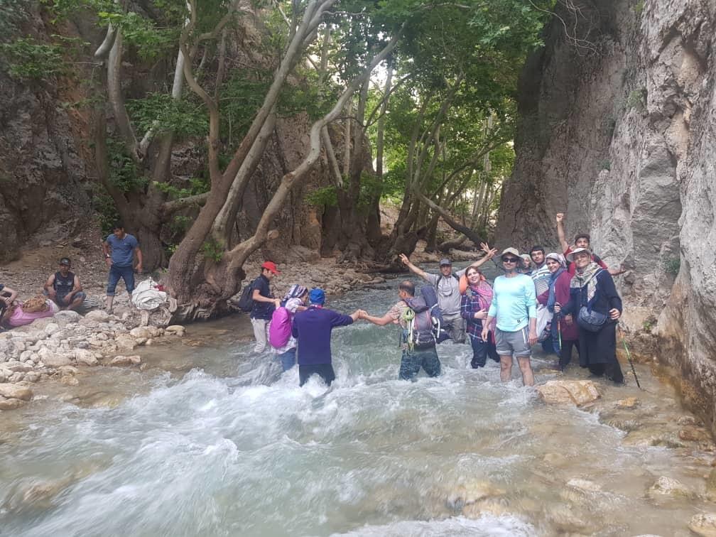 تور یاسوج آبشار مارگون