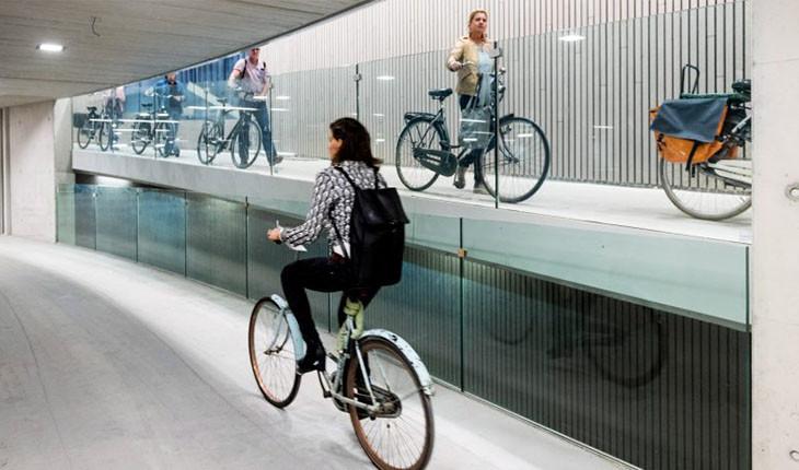 بزرگترین پارکینگ دوچرخه دنیا در اوترخت هلند افتتاح شد