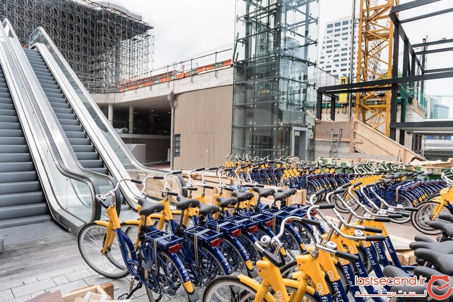 بزرگترین پارکینگ دوچرخه در دنیا
